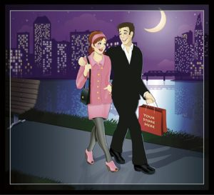 12 – Illustrated Couple