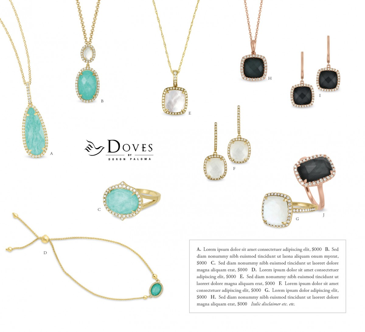 Doves Jewelry 8211 Dj